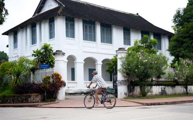 Colonial-building-Luang-Prabang-Laos