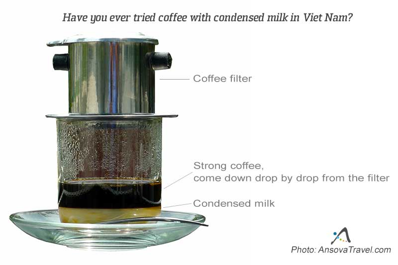 dripping coffee in Vietnam
